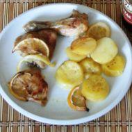 Kuřecí stehno na citronech recept