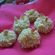 Pečené mandlové kuličky recept