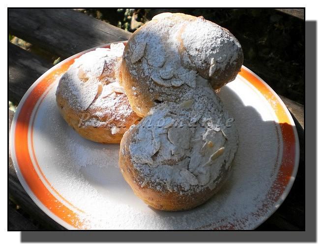 Mandlová kynutá esíčka recept