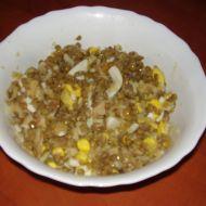 Čočkový salát s jablkem recept