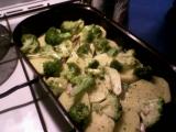 Zapečená brokolice s bešamelem recept