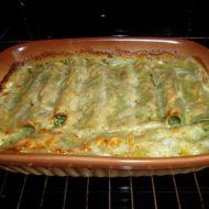 Cannelloni plněné listovým špenátem recept