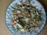Rýže a pohanka se zeleninou recept