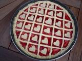 Mřížkový koláč kulatý recept
