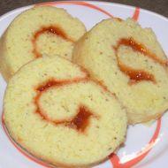 Piškotová roláda recept