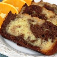 Mramorový chlebíček recept