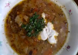 """Silná fazolová polévka dle hajného ze """"Šlajfu"""" recept"""