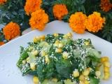Mangoldovo-kukuřičný salát recept