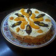 Tvarohová dorta s ovocem recept