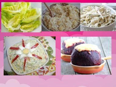 Saláty ke svačince nebo večeři