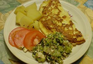 Sýrová omeleta  rychlá