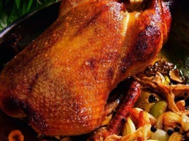 Recept Kachna na divoko