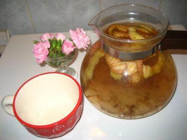 Domácí jablečný čaj