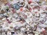 Rybí salát  z králíka recept