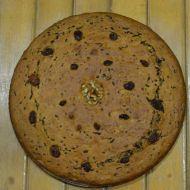 Banánovo-čokoládový koláč s ořechy a sušenými švestkami recept ...