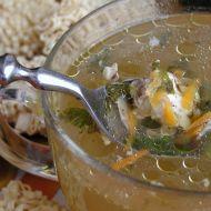 Polévka z kuřecích kostí recept