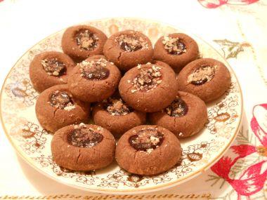 Sádlové koláčky s marmeládou