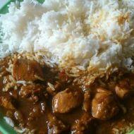 Moje kuře po indicku recept