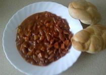 Mexické fazole po mém recept