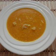 Mrkvová polévka s taveným sýrem recept