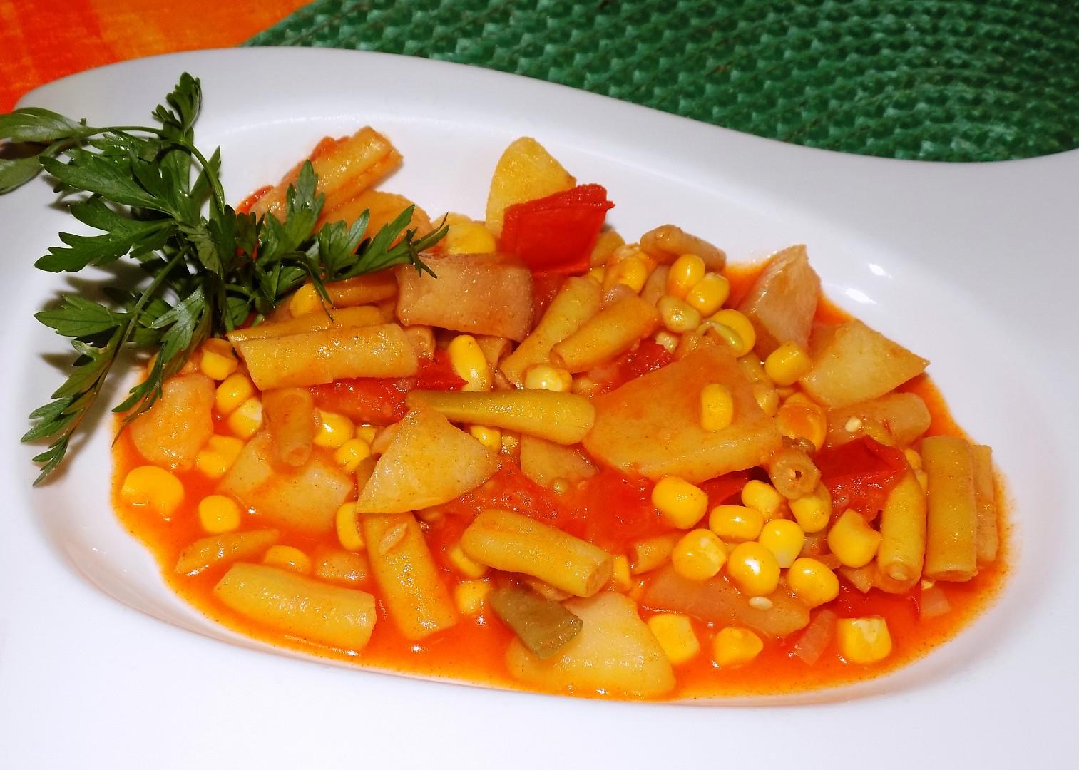 Fazolky po španělsku recept