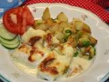 Kureci zapecene syrem a slehackou recept