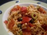 Rajčatová rýže recept