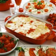 Rajčatové lasagne recept