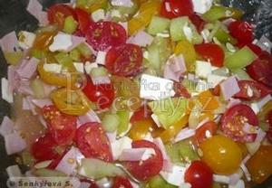 Lehký letní salát