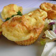Muffiny se sýrem a pórkem recept