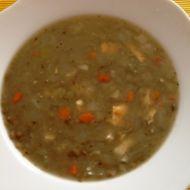 Čočková polévka s vajíčkem recept