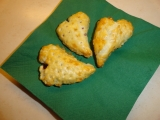 Srdíčka z listového těsta recept