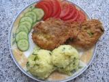 Kuřecí placičky s pórkem recept
