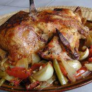 Kuře na zelenině a řeckém koření recept
