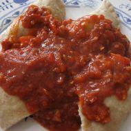 Kuřecí náplň do těstovin recept