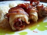 Kuřecí rolky se sušenými rajčaty na jehle recept