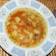 Hovězí polévka se zázvorovými noky recept