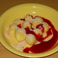 Tvarohové knedlíčky s jahodami recept