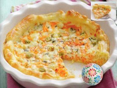 Jarní mrkvový koláč