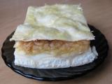 Pudinkovo-jablečný koláč s piškoty z listového těsta recept ...