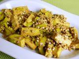 Pohanka na kari s tofu a pórkem recept