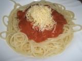 Špagety s ostrou omáčkou recept