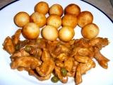 Kuřecí směs s kroketami recept