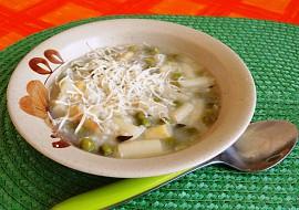 Rýžová polévka s chřestem recept