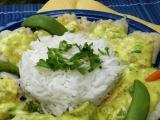 Pangas se zeleninou ve smetanové kari omáčce recept ...