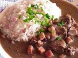 Játra na špeku se šunkovou rýží recept