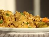 Výpečkové bramborové knedlíky s vajíčkem recept