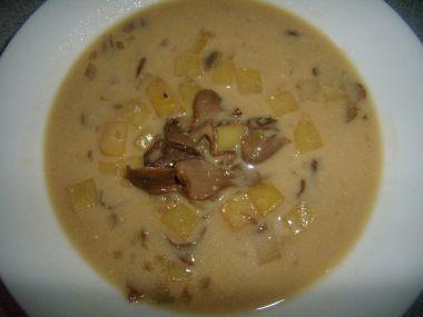 Horácká houbová polévka