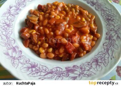 Ďábelské fazole (tisícátá první variace) recept
