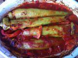 Plněné papriky směsí z kuskusu recept